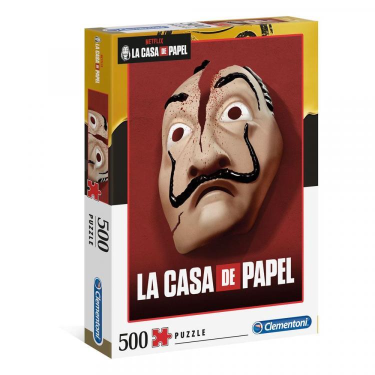Money Heist Jigsaw Puzzle Mask (500 pieces)