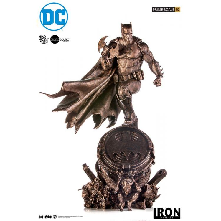 DC Comics Estatua Legacy Prime Scale 1/3 Batman Bronze Edition 89 cm