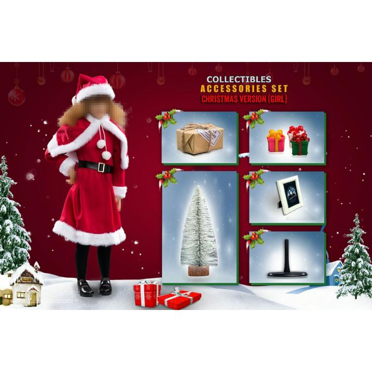 Harry Potter Christmas Set Accessories 1/6 XMAS (Girl)