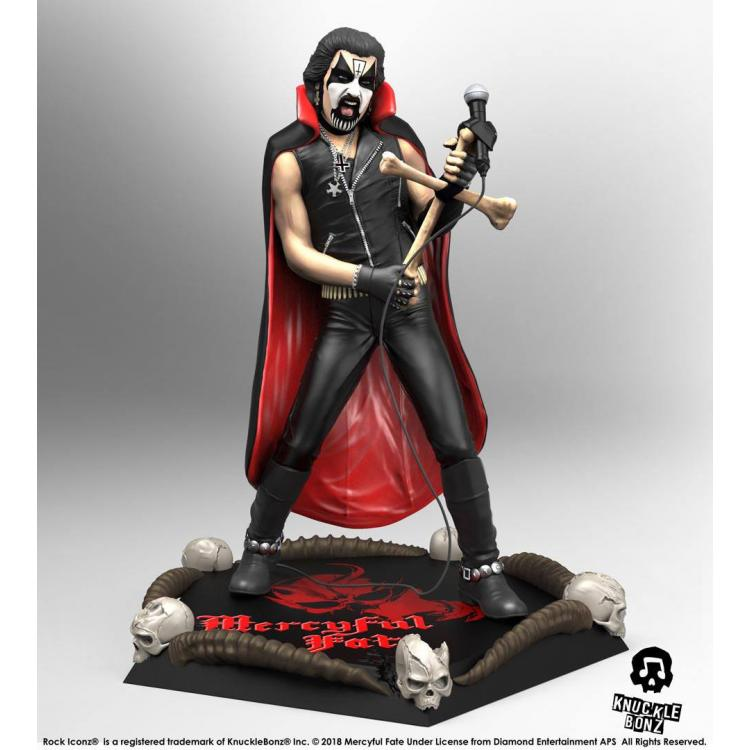 Mercyful Fate Estatua Rock Iconz 1/9 King Diamond II 21 cm
