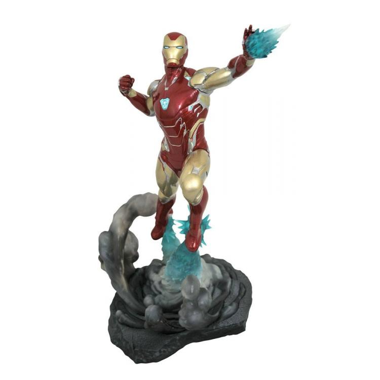 Vengadores: Endgame Diorama Marvel Movie Gallery Iron Man MK85 23 cm