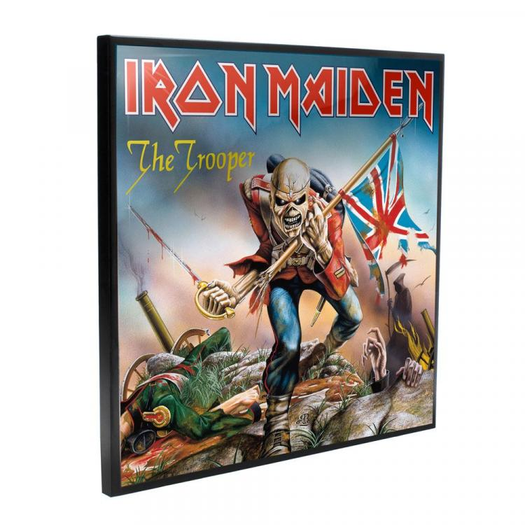 Iron Maiden Crystal Clear Picture The Trooper 32 x 32 cm