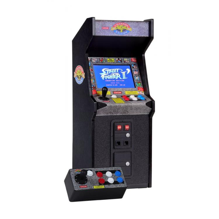 Street Fighter Mini Consola Arcade Game 1/6 Street Fighter II: Champion Edition x RepliCade