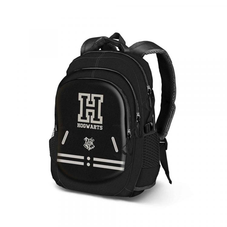 Harry Potter Backpack Hogwarts Black Running