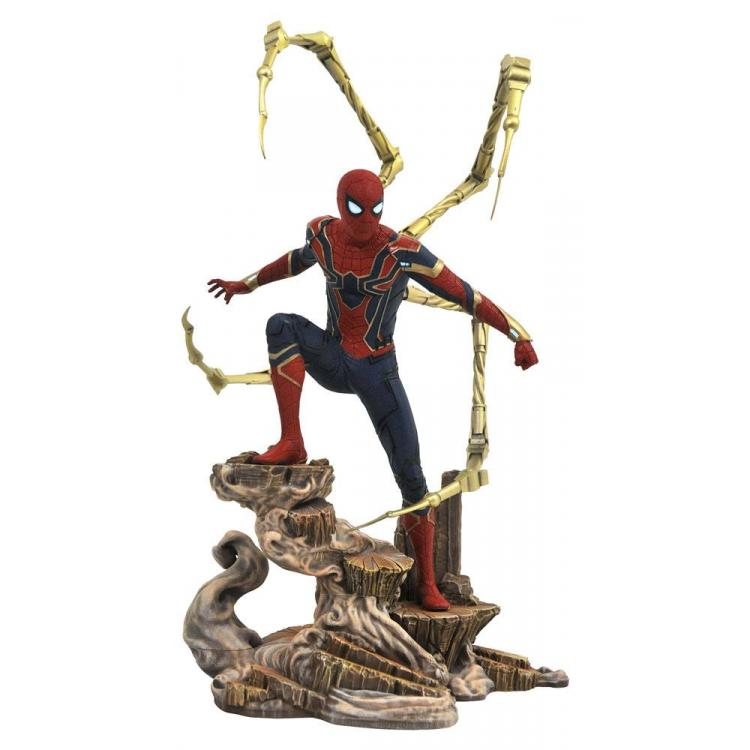 Vengadores Infinity War Marvel Movie Gallery Estatua Iron Spider-Man 23 cm