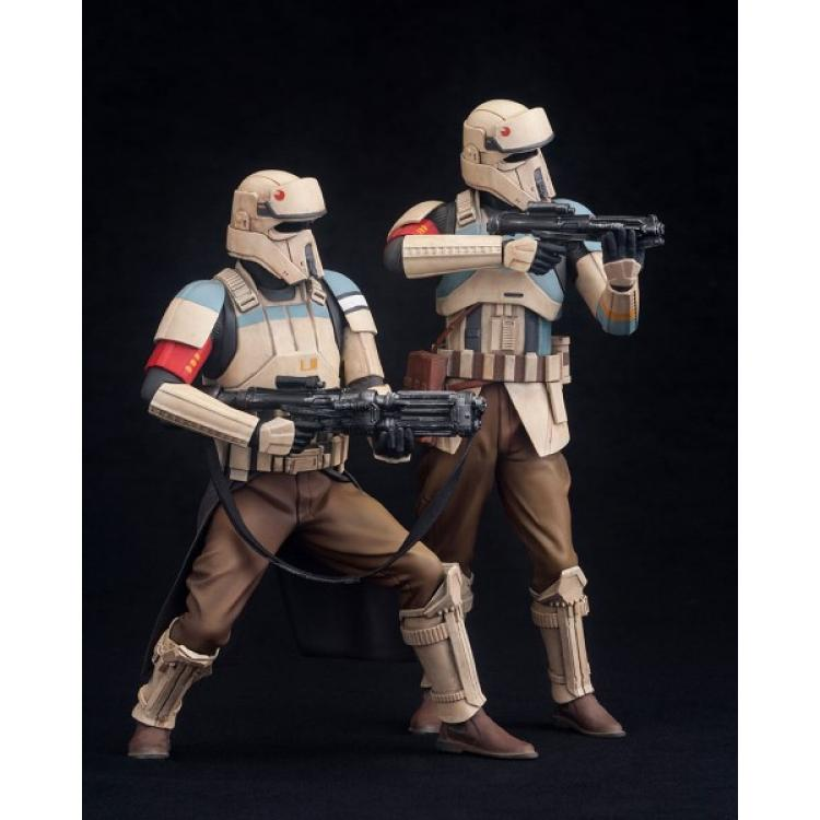 Star Wars Rogue One Pack de 2 Estatuas ARTFX+ Scarif Stormtrooper 18 cm