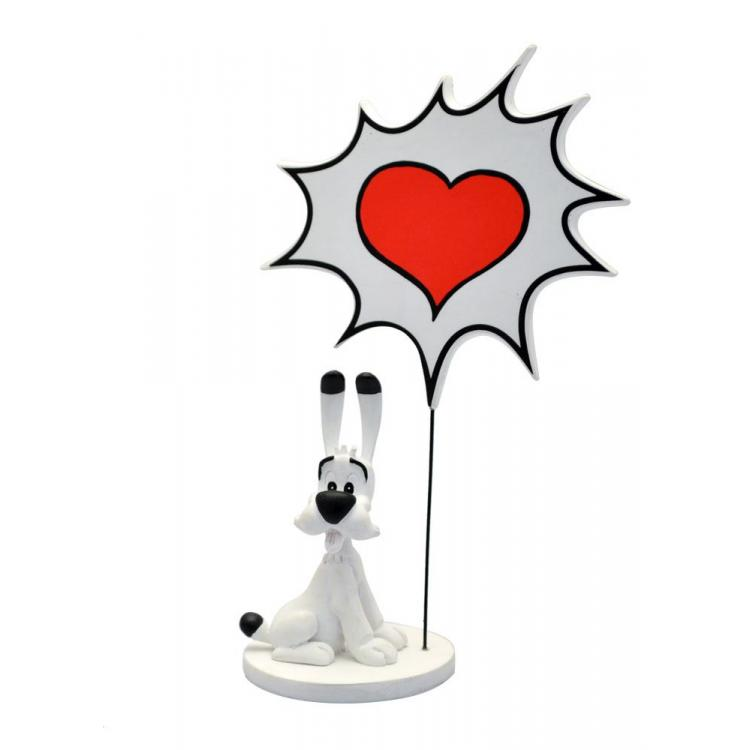 Asterix Estatua Collectoys Comics Speech Idefix Love 18 cm