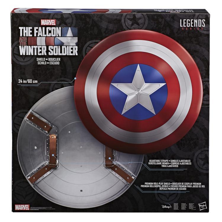 The Falcon and The Winter Solder Marvel Legends Escudo Premium 60 cm