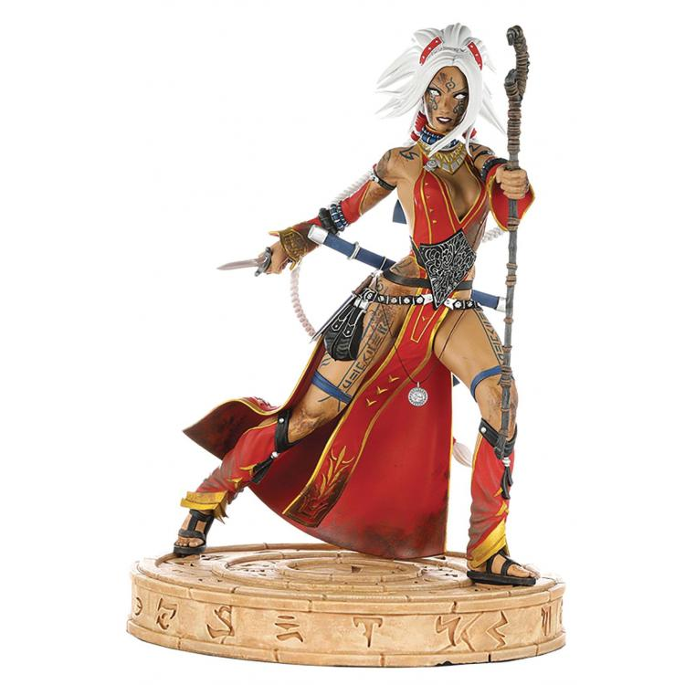 Pathfinder Statue Seoni Battle Ready Diamond Eye Edition 30 cm