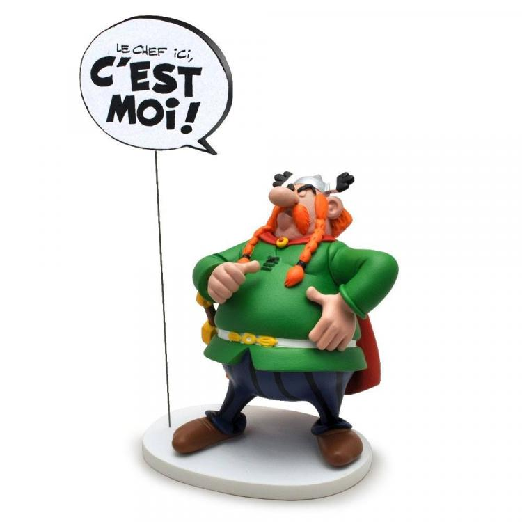 Asterix Estatua Collectoys Comics Speech Majestix 18 cm *Edición Francesa*