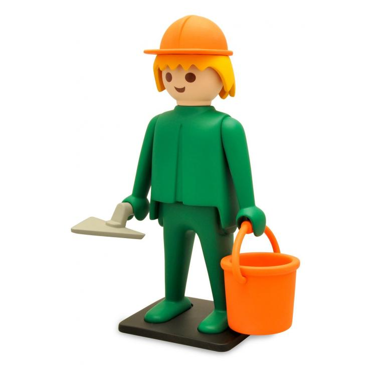 Playmobil Figura Vintage Collection El Obrero de la Construcción 21 cm
