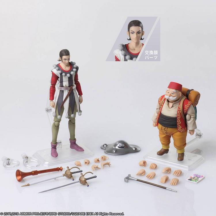 Dragon Quest XI Echoes of an Elusive Age Bring Arts Action Figures Sylvando & Rab 12 - 15 cm