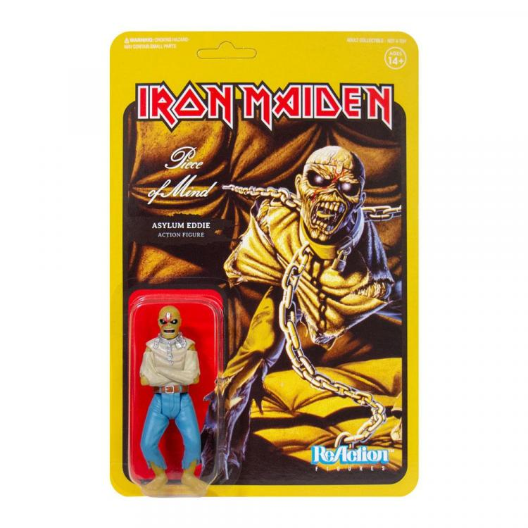 Iron Maiden Figura ReAction Wave 2 Piece of Mind (Album Art) 10 cm