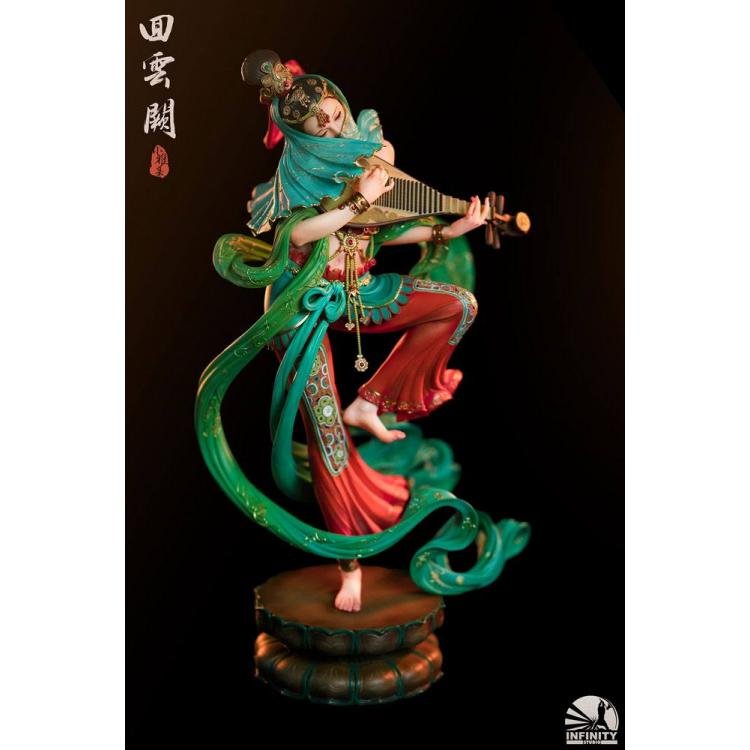 Infinity Studio Elegance Beauty Series Estatua Dancer of Cloud Palace 35 cm