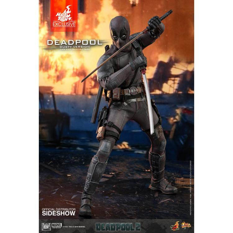 Deadpool (Dusty Version) Sixth Scale Figure by Hot Toys Deadpool 2 - Movie Masterpiece Series