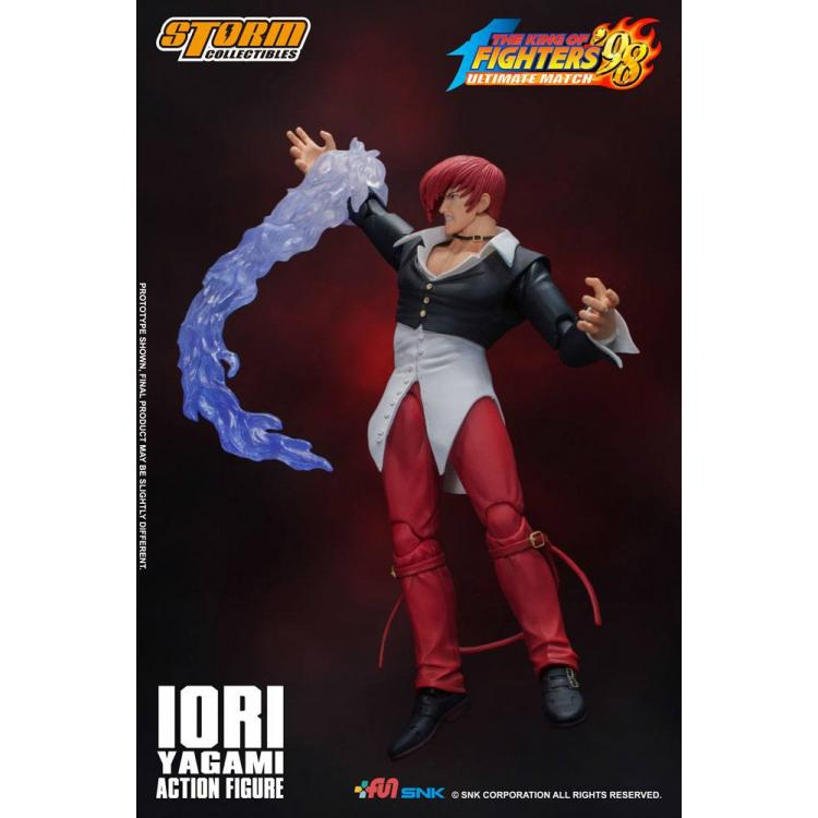 King of Fighters \'98: Ultimate Match Figura 1/12 Iori Yagami 17 cm