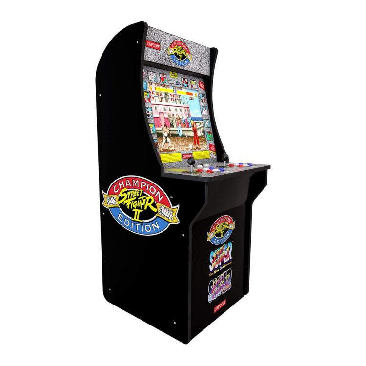 Arcade1Up Mini Consola Arcade Game Street Fighter II Champion Edition 121 cm