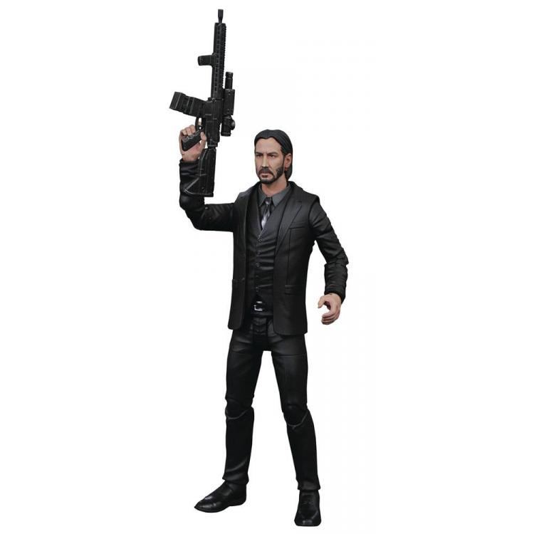 John Wick Select Action Figure Chapter 2 18 cm
