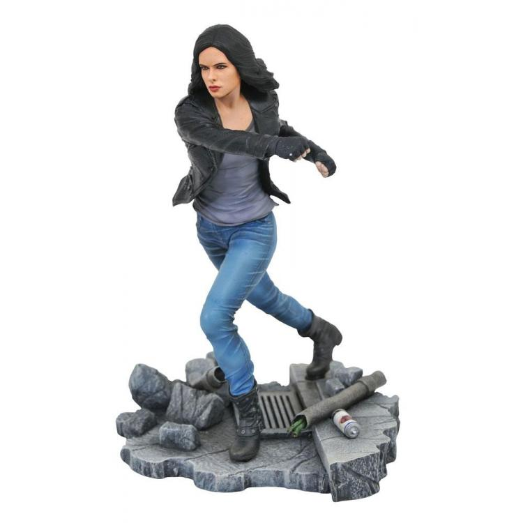 The Defenders Marvel TV Gallery Estatua Jessica Jones 23 cm