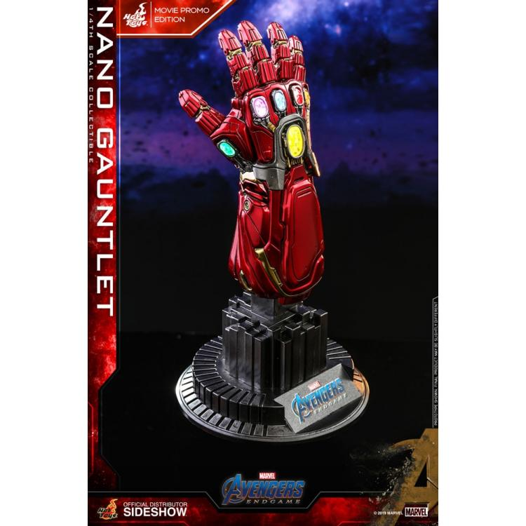 Nano Gauntlet (Movie Promo Edition) Quarter Scale Figure by Hot Toys Accessories Collection Series - Avengers: Endgame
