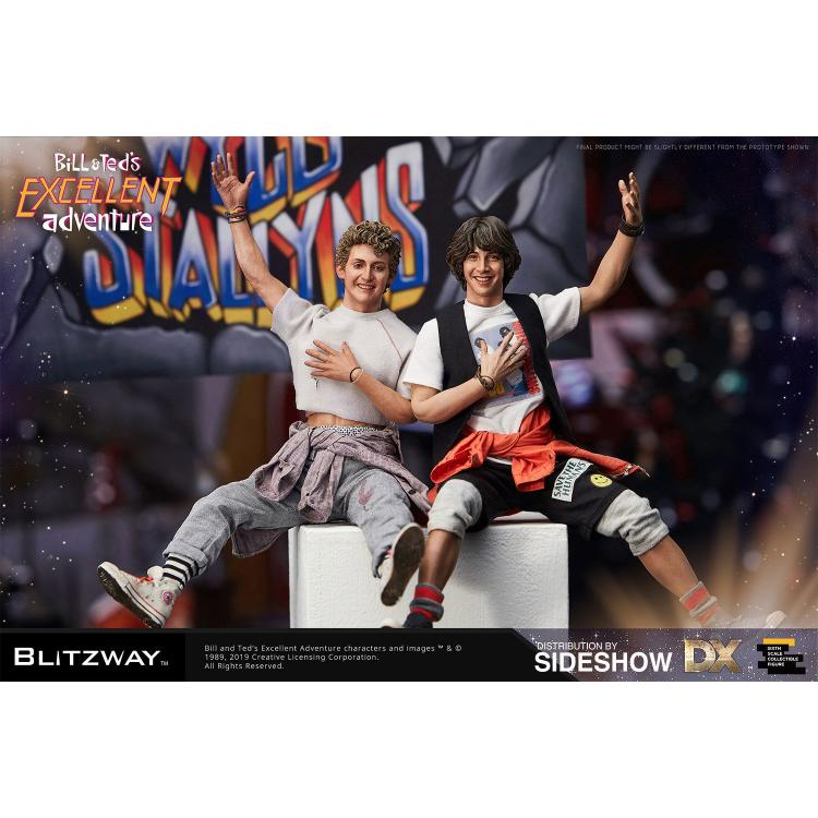 Bill & Ted\'s Excellent Adventure Action Figure 2-Pack 1/6 Bill & Ted 28-29 cm