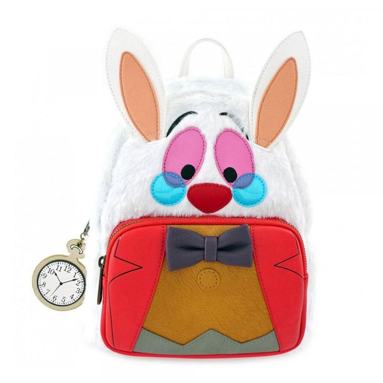 Disney by Loungefly Mochila White Rabbit Alicia en el pais de las maravillas