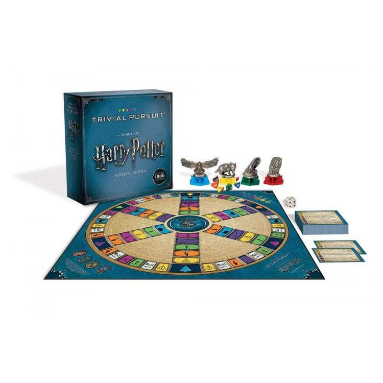 Harry Potter Juego de Mesa Trivial Pursuit Ultimate Edition *Edición Inglés*