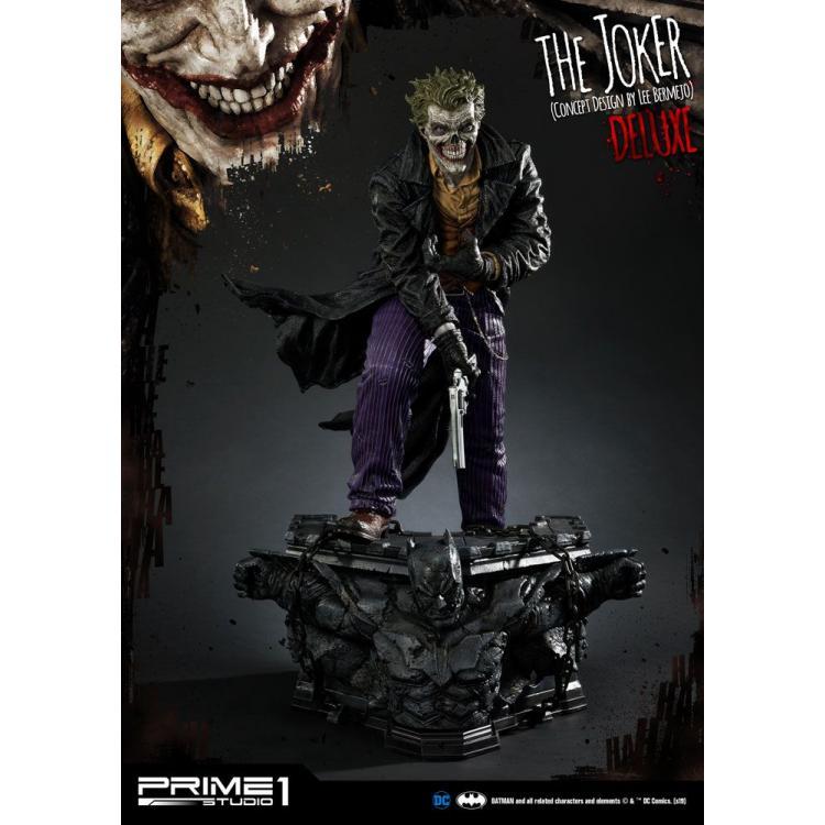 DC Comics Statue The Joker by Lee Bermejo Deluxe Version 71 cm