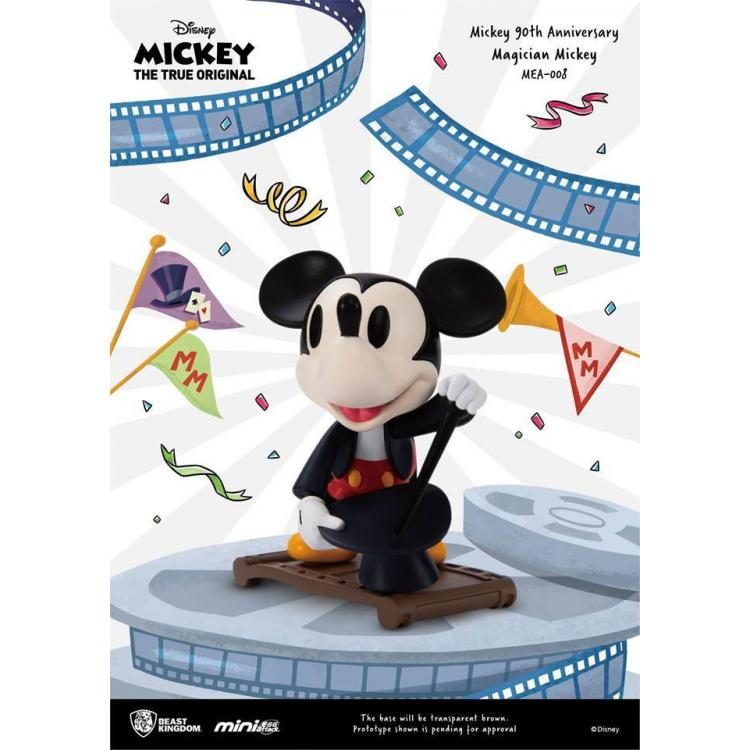 Mickey Mouse 90th Anniversary Figura Mini Egg Attack Magician Mickey 9 cm