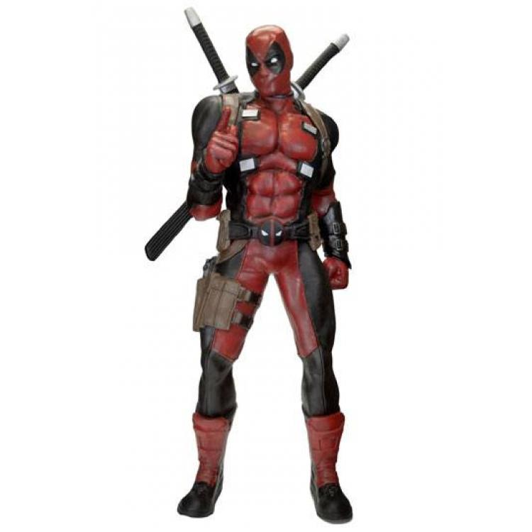 Marvel Classics Life-Size Statue Deadpool (Foam Rubber/Latex) 185 cm